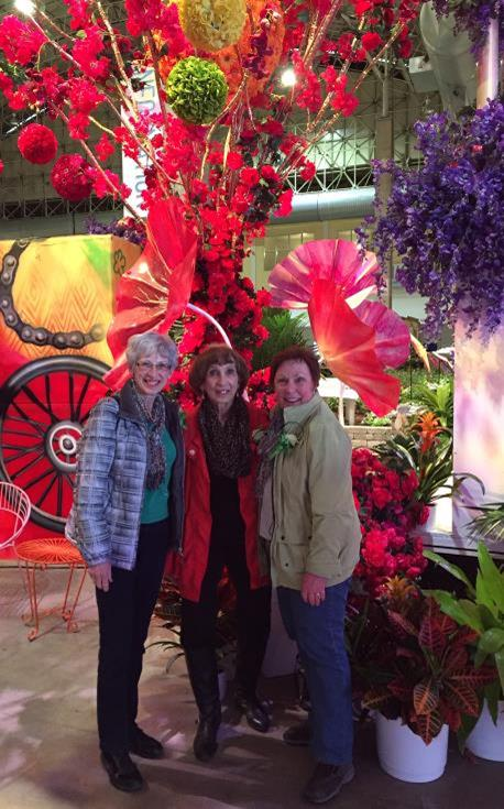 Women's Group Outing at Chicago Flower Show